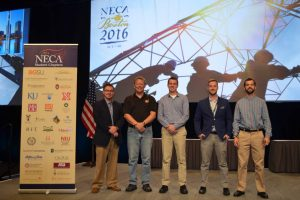 Construction students compete in ELECTRI International/NECA Green Energy Challenge article thumbnail