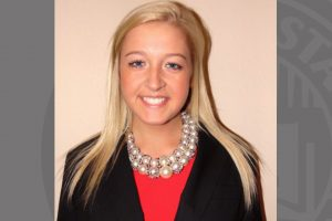 Maddie Willer, senior Fashion Merchandising major.