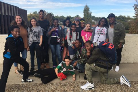 Chicago's East Garfield Park sixth, seventh, and eighth graders visit the Illinois State University campus in Bloomington-Normal.