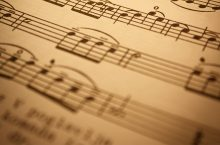 image of musical notes from DepositPhotos