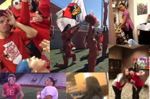 Students and staff across campus participated in the Mannequin Challenge in November 2016.