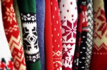 holiday printed sweaters