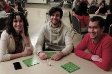 Students playing Bingo at the 2015 Chillax program