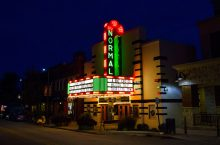 Normal Theater at night