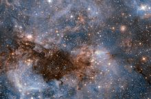 A Hubble image of a Large Magnetic Cloud (LMC) in the Milky Way galaxy. Photo by ESA/Hubble & NASA