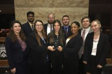 Illinois State mock trial team