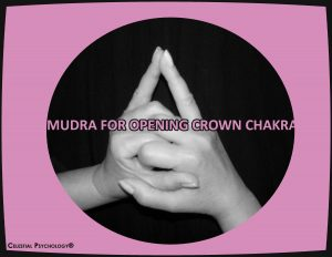 Mudra for opening crown chakra