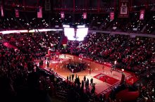 Photo of Redbird Arena from upper bowl.