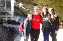 Winter Waterfall HIke