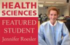 Health Sciences featured student: Jennifer Roesler article thumbnail
