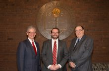 Photo of Mark Walbert, Michael Regilio, and David Williams.