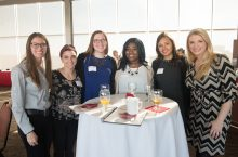 Students learn leadership skills from alumni at CAST's Women in Leadership Conference.