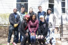 Participants from last year's Bring It Back to Normal day of service