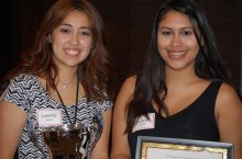 Award winners from the 2016 Student Involvement Recognition Ceremony