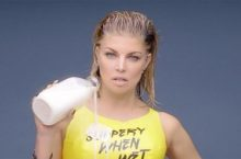 Image of the singer Fergie from a music video.