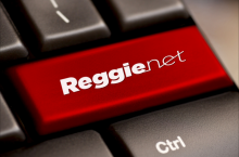 ReggieNet key on keyboard