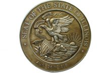 Image of the seal of the State of Illinois