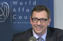Chad Broughton, who will speak at Social Work Day. Photo from the World Affairs Council of Northern California.