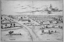 A map image of Fort McClellan.