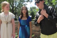 Students participate in summer programs at the Illinois Shakespeare Festival