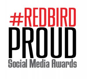 #RedbirdProud Social Media Awards logo