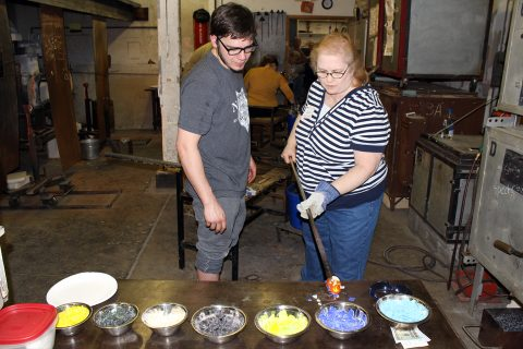 Alumni events fund art student's scholarship to Pilchuck Glass School article thumbnail