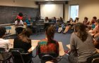 Haitian management students visit French class article thumbnail