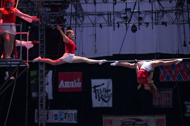 Active double major in French, studio art also takes part in Gamma Phi Circus article thumbnail