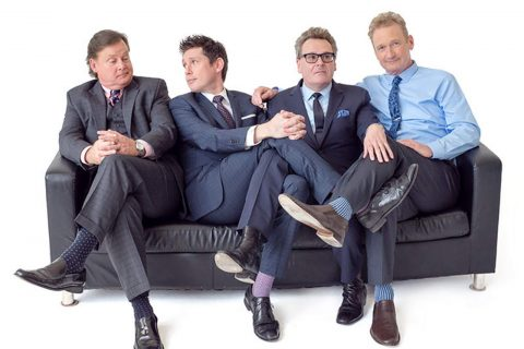 Image of cast of Whose Live Anyway?