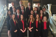 PSE Delta Omega Chapter win Top Silver Chapter at national conferece.
