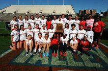 Women's track and field team group photograph