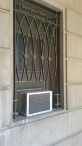 image of a window grill