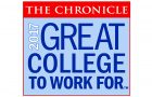 logo of Great Colleges to Work For 2017