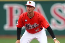 Paul Dejong while with the Illinois State Redbirds.
