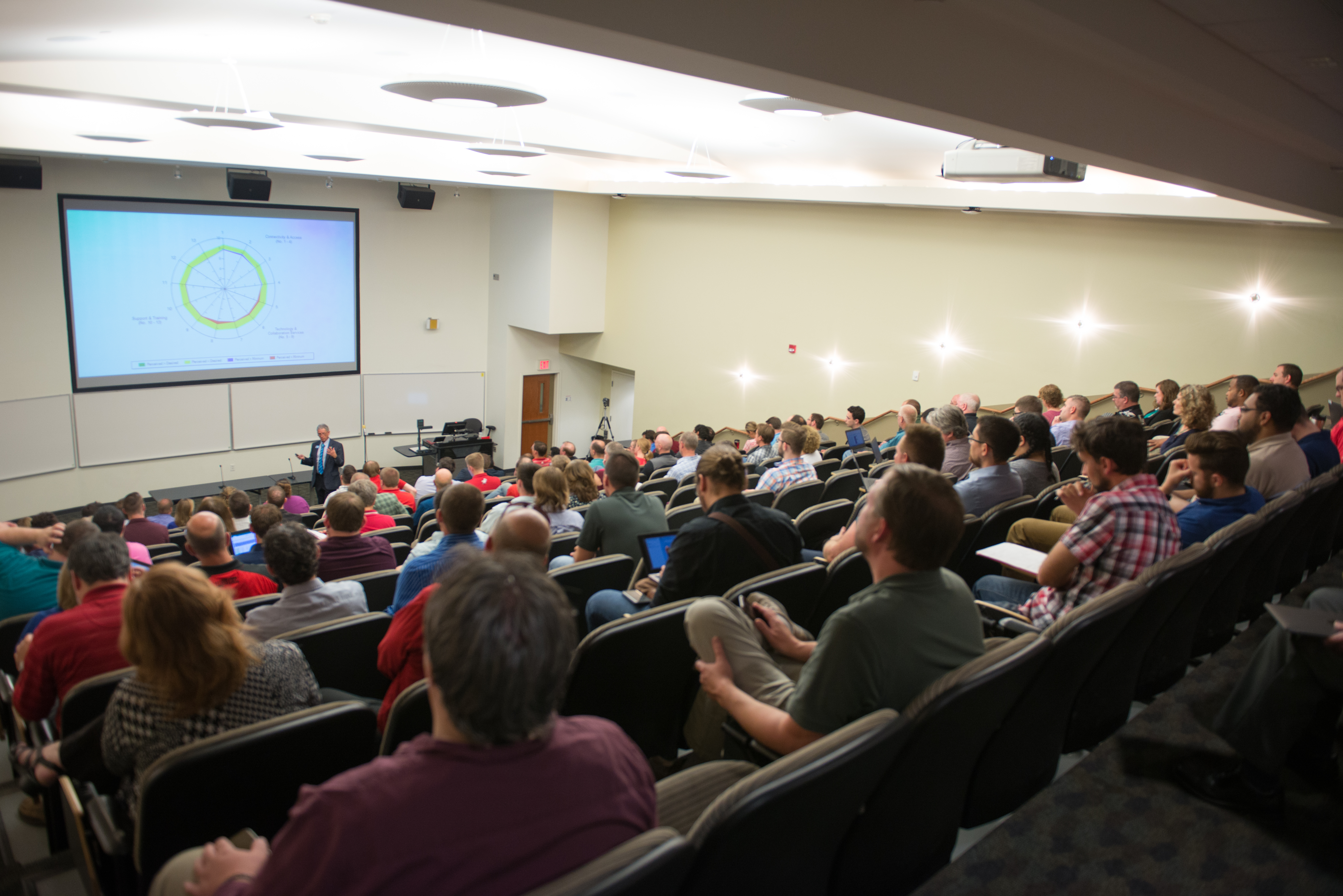 Mark Walbert, Chief Administrative Technology Officer, presents at CIT.