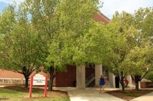 Photo of Student Services Building
