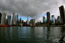 view of Chicago skyscrapers
