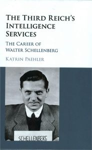 cover of the book, The Third Reich's Intelligence Service: The Career of Walter Schellenberg