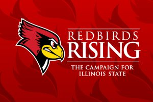 Reggie Redbird and Redbirds Rising logo