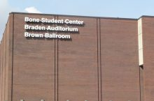 exterior of the Bone Student Center