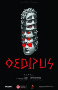 <i>Oedipus</i> depicts a city in inexplicable crisis, seized by plague, war, and famine. Talkbacks will follow the October 13 and 21 performances.