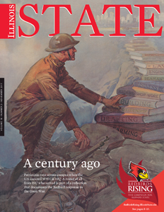 The cover of the current issue of Illinois State's alumni magazine