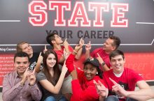 Students state their career thanks to your gift to the Career Center