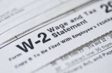 W-2 Wage and Statement Form