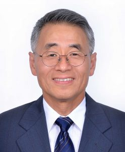 Professor Wang headshot, Chair of the Department