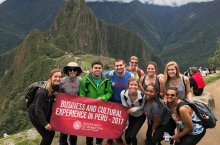 Business and Cultural Experiences in Peru 2017 study abroad trip