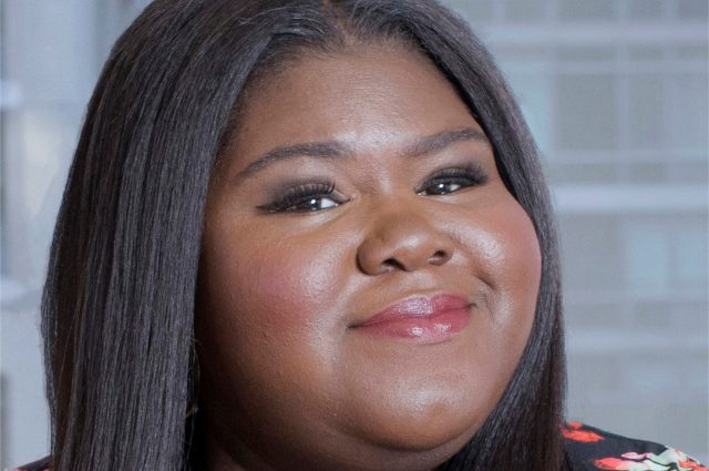 headshot of Gabourey Sidibe