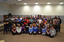Photo of fraternity and sorority members