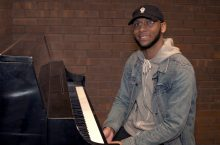 Kemond Collins at a piano
