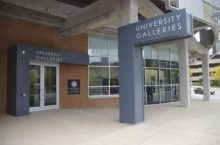 Exterior view of University Galleries, Uptown Normal